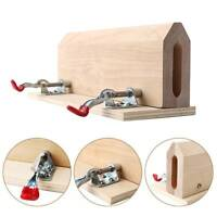 Improved Sewing Horse Leathercraft Table Pony Vice Clamp Leather Stitching Pony