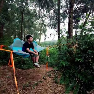 Hiking Traveling Tree Tent Outdoor Camping Tree Hammock Bed Ultralight 01 Person