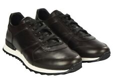 NEW KITON SHOES SNEAKERS 100% LEATHER SIZE 12 US 45 EU 18KSCW8