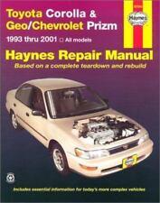 Haynes Automotive Repair Manual: Toyota Corolla and Geo/Chevrolet Prizm