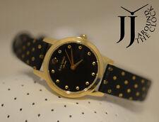 New Kate Spade New York Petite Metro Black Mini Polka Dot Ladies Watch 1YRU0890
