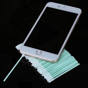 200pcs/lot Dust-Free Cotton Swab Fibe Optical Fiber Cleaning Rod Cleaning Tools