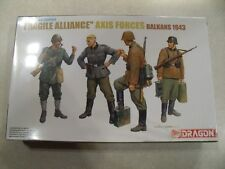 DRAGON / FRAGILE ALLIANCE AXIS FORCES BALKANS 1943 / Plastic Model Kit 1:35