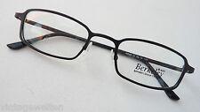 Berkeley Metallfassung schmale Gläser schwarz Brillegestell mittelgroß Grösse M
