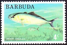 Barbuda  1974 - 4 Cents Greater Amberjack Fish Definitive #174 Mint NH Very Fine