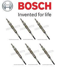 NEW BMW E70 E90 335d X5 Set of 6 Glow Plugs OEM BOSCH 12 23 7 807 277