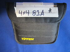 TIFFEN 4 X 4  FILTER   81A    (USED)