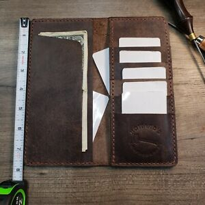 Horween Leather Long Wallet