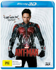 Marvel Ant-man 3d Blu-ray Region ABC