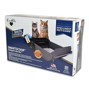 Smart Scoop Automatic Litter Box with Bluetooth health monitor US shipping only