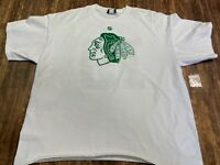 Chicago Blackhawks Jonathan Toews St. Patty's Day Men's White T-Shirt - XL