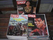 EPOCA RIVISTA SETTIMANALE ANNATA 1976 ANNO COMPLETO -2 BONATTI FRIULI TERREMOTO