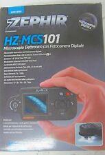 MICROSCOPIO ELETTRONICO CON FOTOCAMERA DIGITALE HZ-MCS101 ZEPHIR PRONTA CONSEGNA