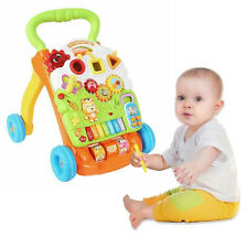 Baby Walker 4in1 First Steps Activity Bouncer Musical Toys Car Along Toddler UK