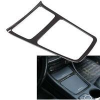 Center Console Panel Trim Carbon fiber For Mercedes Benz A GLA CLA Class 2013-17