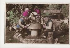 The Gamblers Blackgang Chine IOW Gnomes Vintage RP Postcard 137b