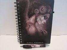 Fallen Angel Journal/ Notebook+Ballpoint pen- Digoil En-riuqez Art