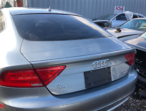 2012-2017 Audi A7 S7 RS7 Trunk Lid Liftgate with Rear windshield Silver OEM