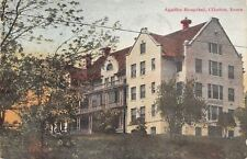 Red Oak IA Coolbaugh~Rankin-Malony=Houghton Bldgs~Nice Horse & Buggy~1909