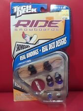 TECH DECK RIDE SNOWBOARDS 1999 REAL TOOL G1 CORE 4210 RARE RIDE Snowboards NEW