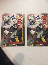 Emmitt Smith 1991 Action Packed Rookies Promo Prototype Dallas Cowboys LOT OF 2