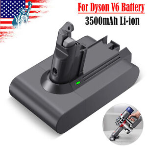 21.6V Li-ion Replacement Vacuum Battery for Dyson V6 DC58 DC59 DC61 DC62 Animal