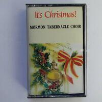 Mormon Tabernacle Choir It's Christmas (Cassette)
