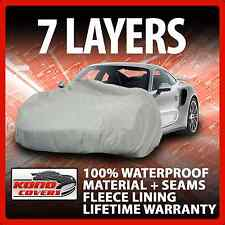 7 Layer Car Cover Indoor Outdoor Waterproof Breathable Layers Fleece Lining 7100