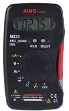 Digital Multimeter Handheld Auto Range Multifunction Mini DMM DC AC Voltage