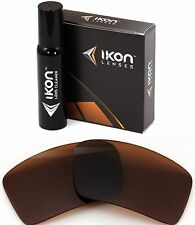 Polarized IKON Replacement Lenses For Oakley Eyepatch 2 Sunglasses Bronze