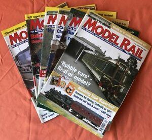 Pack 6 Model Rail Magazines April - September 2001