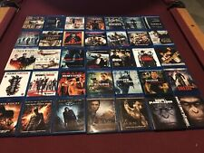 Lot Of 70 Pre Owned Blu Ray Movies Action Dark knight Ip Man Wick Matrix Dredd