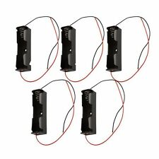 5PCS 18650 Battery Clip Battery Holder Battery Case for 18650 Battery With Leads
