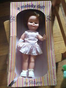 "vintage melody doll  PEDIGREE DOLL  by  Moldex 13.5"""