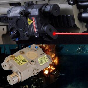 FMA PEQ 15 Upgrade Version LED White FLASHLIGHT + Red Laser with IR Lens UK