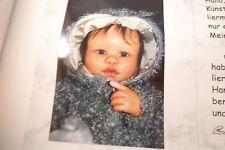 Ruth Kunz Katja Schneider Original Baby Doll 2001 Rabbit Suit Polymer Clay Ooak