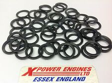 SCHNORR WASHERS SERRATED STEEL LOCKING WASHERS M10 ( 50 ) RACE RALLY ENGINES