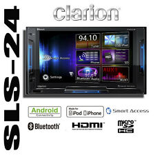 Clarion FX503E 2-DIN Multimedia-Station Bluetooth USB Smart Access Navi iPhone 5