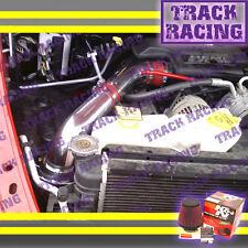 02-10 DODGE RAM 1500 2500 3500 3.7L 4.7L 5.7L COLD AIR INTAKE KIT+ K&N Red