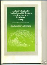 Fabel-Buch-Der Fuchs und die Trauben-R. Hagelstange-
