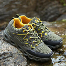 Mens Womens Breathable Outdoor Climbing Hiking Shoes Unisex Anti-skid Sneakers