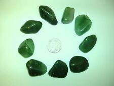 Chalcedony, Green Crystal Healing Tumblestone - Brotherhood, Tolerance, Grudge