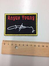 Patch Aufnäher Angus Young von AC/DC Gestickt   Ungebraucht