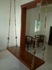indoor Chettinadu swing Full solid teakwood model brand new swing