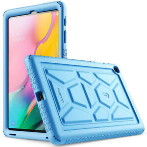 Poetic For Galaxy Tab A 10.1 Tablet Case,Soft Silicone Protective Cover Blue