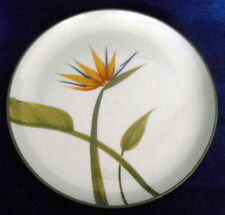 Bird of Paradise Winfield Ware Pottery California Dinner Plate Made in CA. WOW!