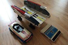 très rare véhicule BANDAI Bioman BIODRAGON 1984 + voiture MASKMAN 1987