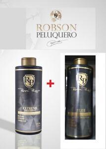 Robson Peluquero Extreme Restore Luminous 1 L + Toner Blue (platinum)  1 Litro