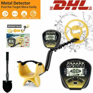 NEU Metalldetektor mit LCD Display Gold Metal Detector Wasserdicht Tiefensonde