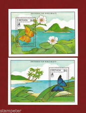 Butterflies Grenadian Stamps